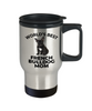 French Bulldog Puppy Dog Mom Travel Coffee Mug