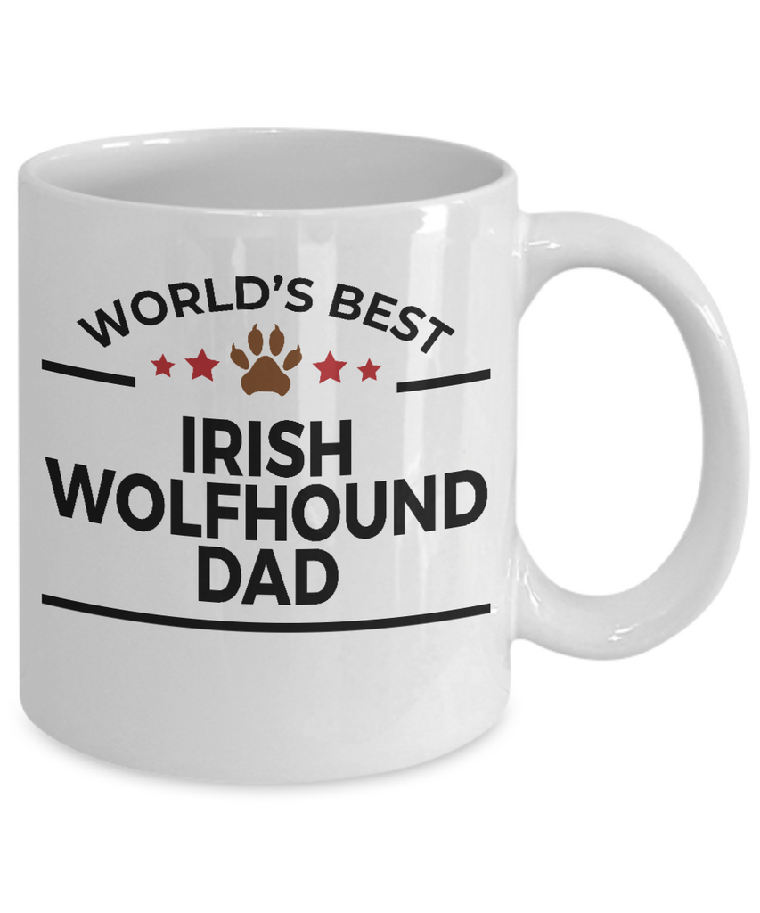 Irish Wolfhound Dog Dad Coffee Mug