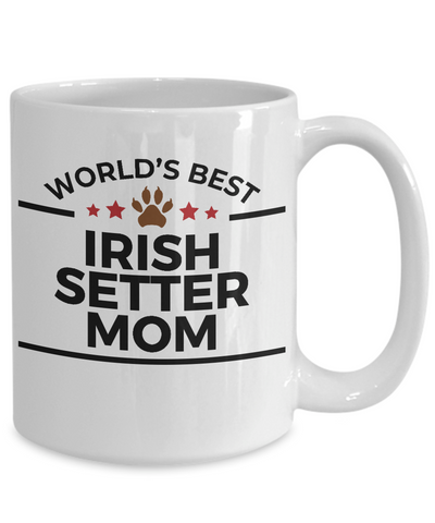 Irish Setter Dog Mom Coffee Mug