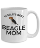 Beagle Puppy Dog Mom Coffee Mug