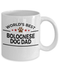 Bolognese Dog Dad Coffee Mug