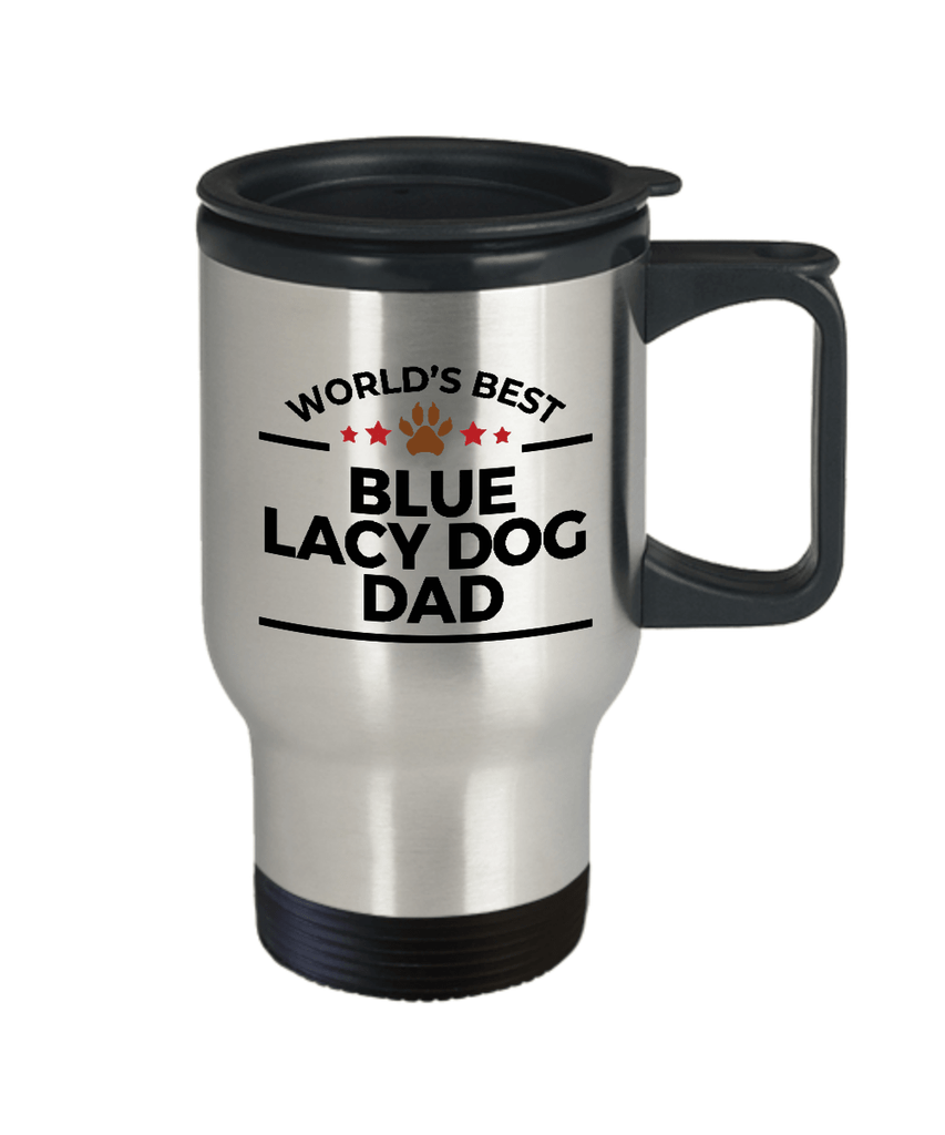 Blue Lacy Dog Dad Travel Mug