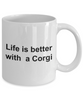 Pembroke Welsh Corgi Dog Lover Gift Coffee Mug