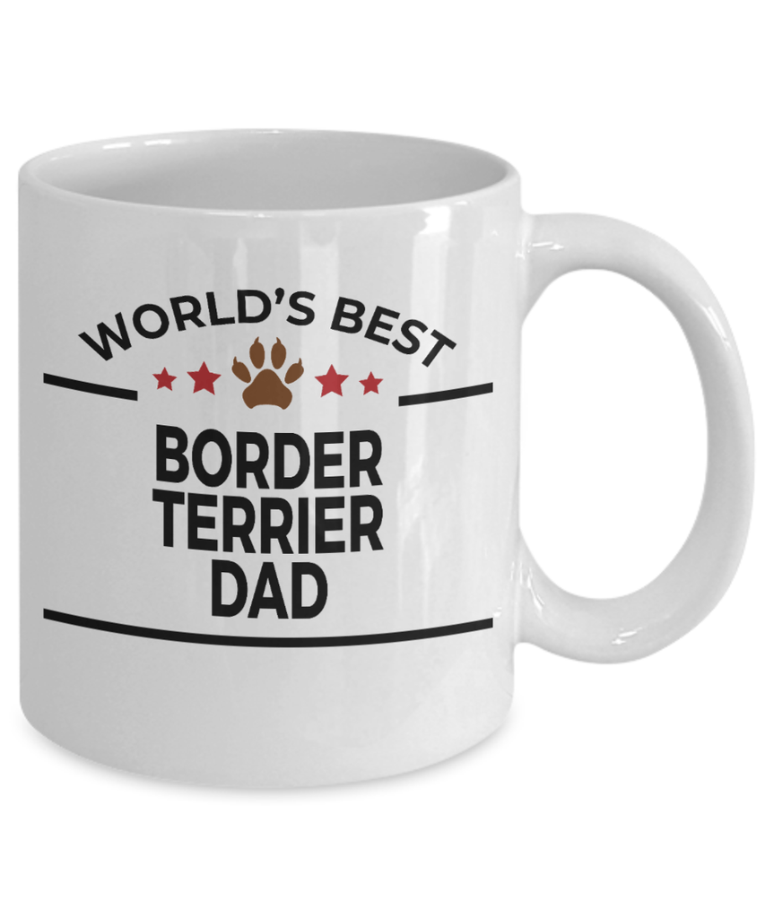 Border Terrier Dog Dad Coffee Mug