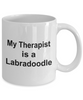 Labradoodle Dog Owner Lover Funny Gift Therapist White Ceramic Coffee Mug