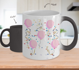 It's A Girl! Baby Gender Reveal Color Changing Ceramic Mug