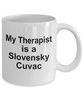 Slovensky Cuvac Dog Owner Lover Funny Gift Therapist White Ceramic Coffee Mug