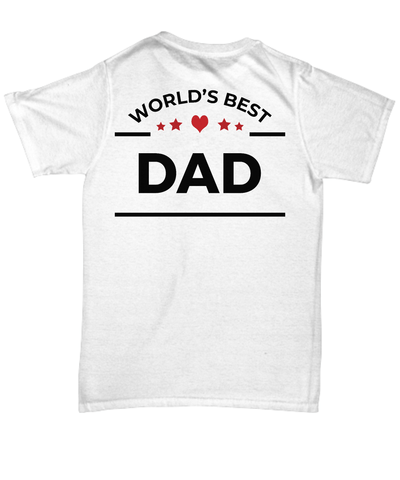 World's Best Dad Unisex Tee Shirt
