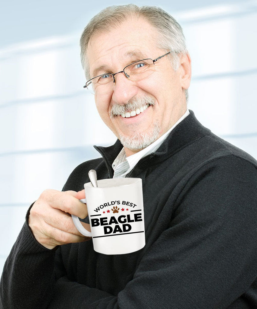 Beagle Dog Dad Coffee Tea Mug