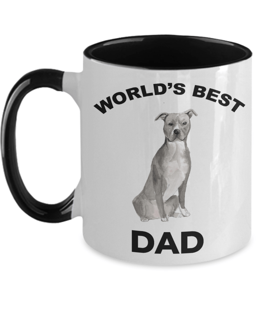 American Staffordshire Terrier Best Dog Dad Coffee Mug