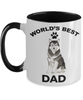 Alaskan Malamute Best Dad Coffee Mug