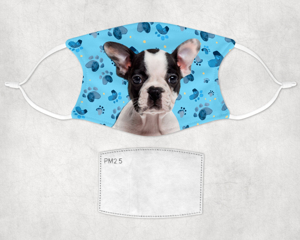 Boston Terrier puppy Face Mask Child and Adult sizes made in USA