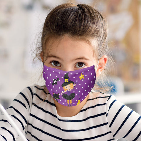 Ballerina Teen Witch Halloween Face Masks Child and Adult Sizes