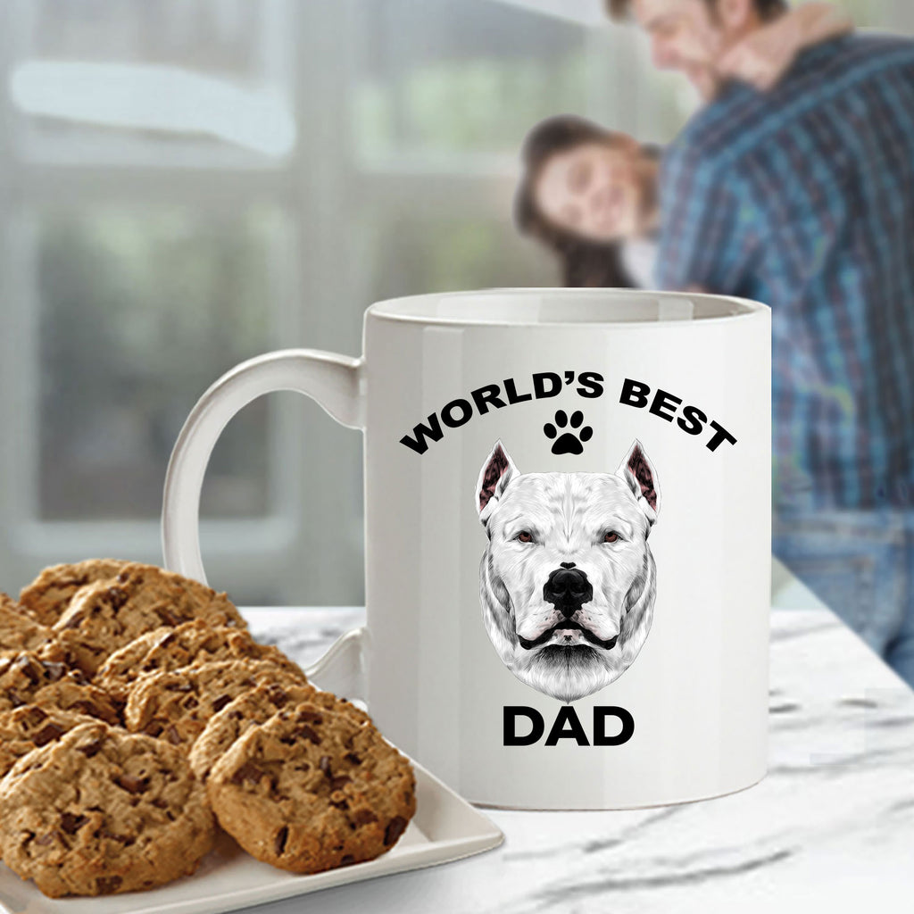Dogo Argentino Best Dad Coffee Mug