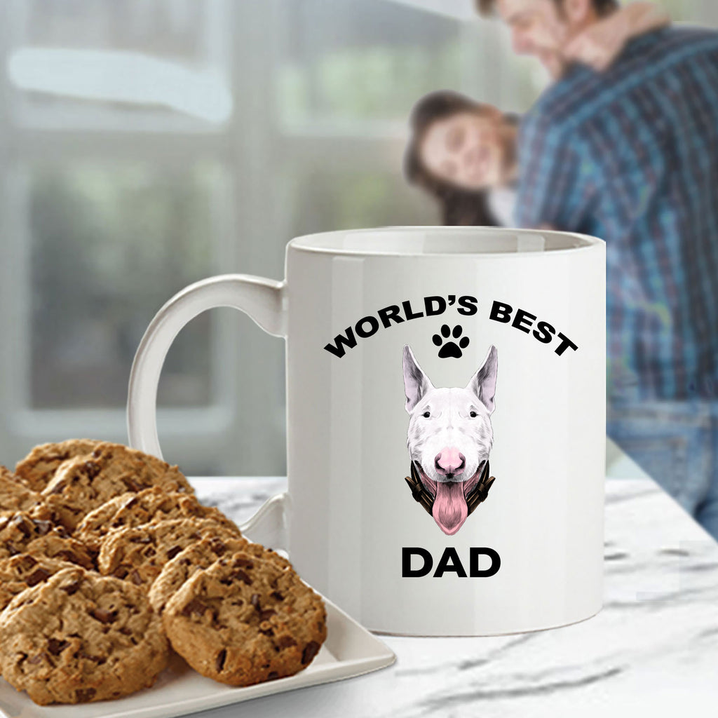 Bull Terrier Dog Dad Coffee Mug