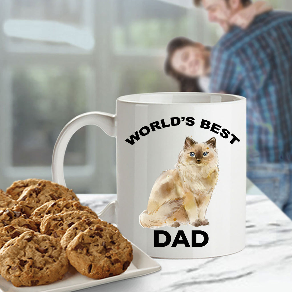 Ragdoll Cat Dad Coffee Mug