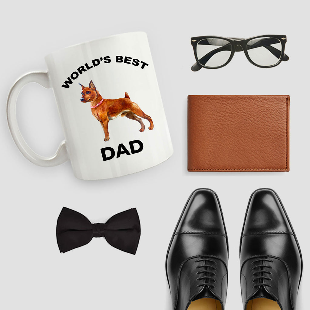 Miniature Pinscher Best Dog Dad Mug