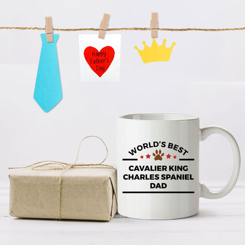 Cavalier King Charles Spaniel Dog Dad Mug