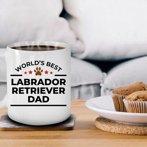 Labrador Retriever Dad Mug