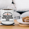 Drentsche Patrijshond Dog Lover Gift World's Best Dad Birthday Father's Day White Ceramic Coffee Mug