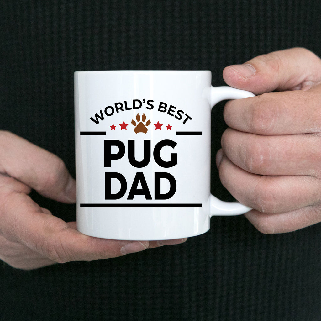 Pug Dog Dad Coffee Mug