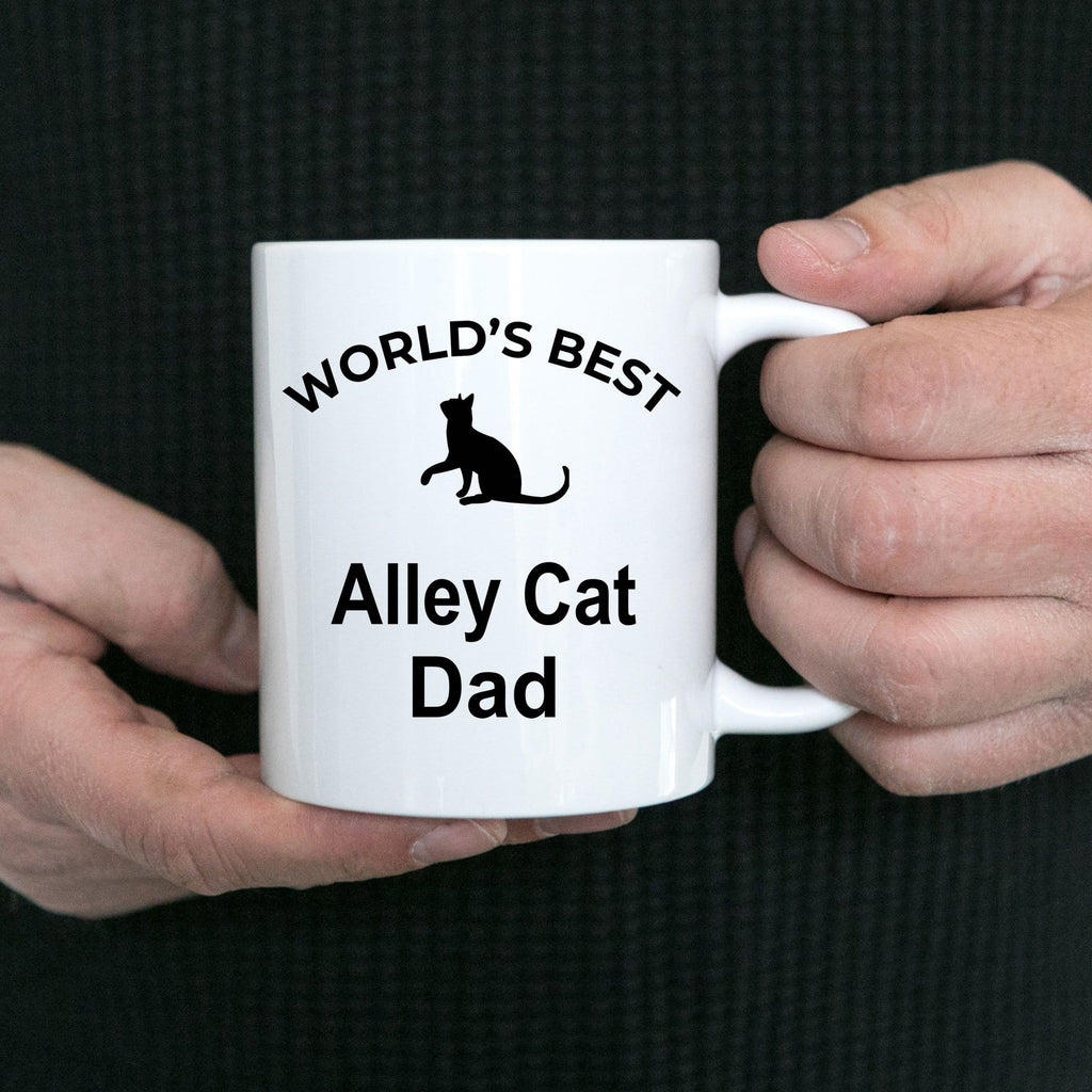 Alley Cat Dad Coffee Mug