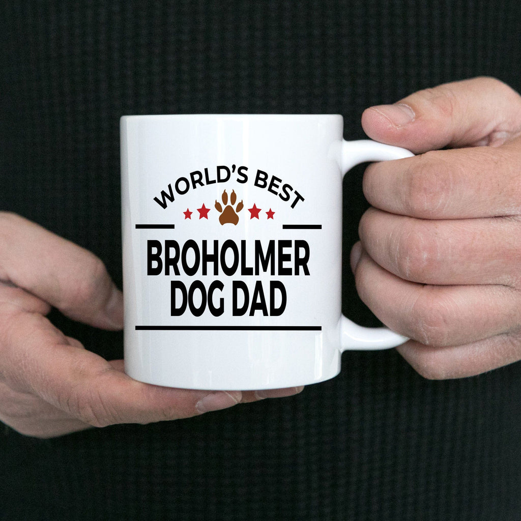 Broholmer Dog Dad Coffee Mug