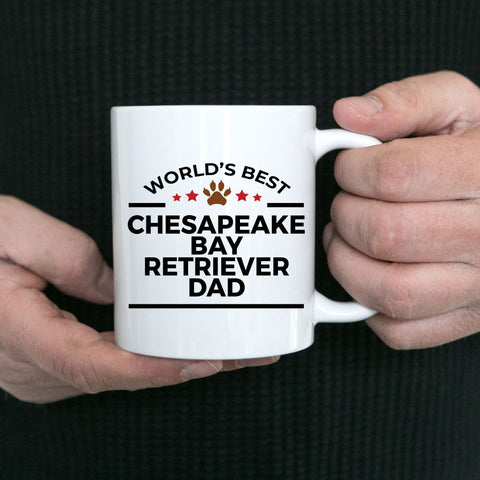Chesapeake Bay Retriever Dog Dad Coffee Mug