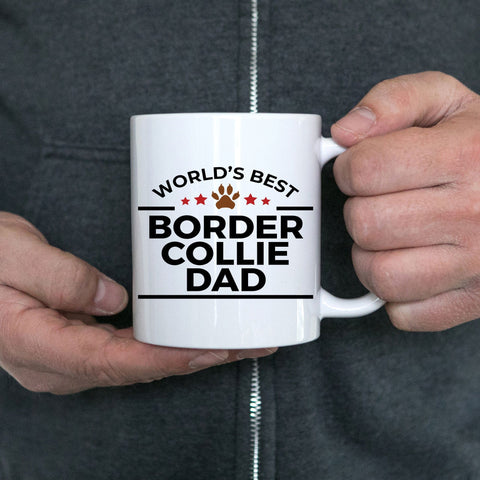 Border Collie Dog Dad Coffee Mug