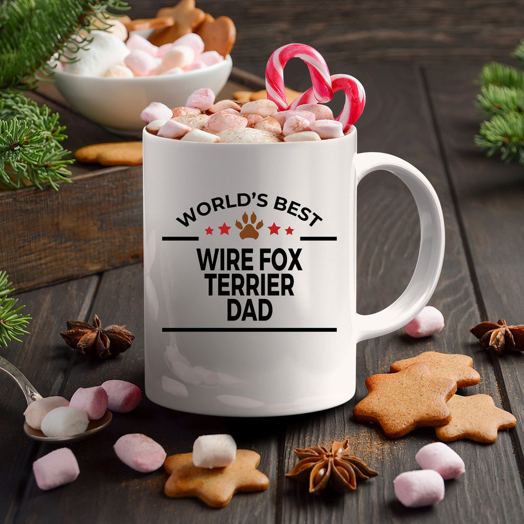 Wire Fox Terrier Dog  Dad Coffee Mug