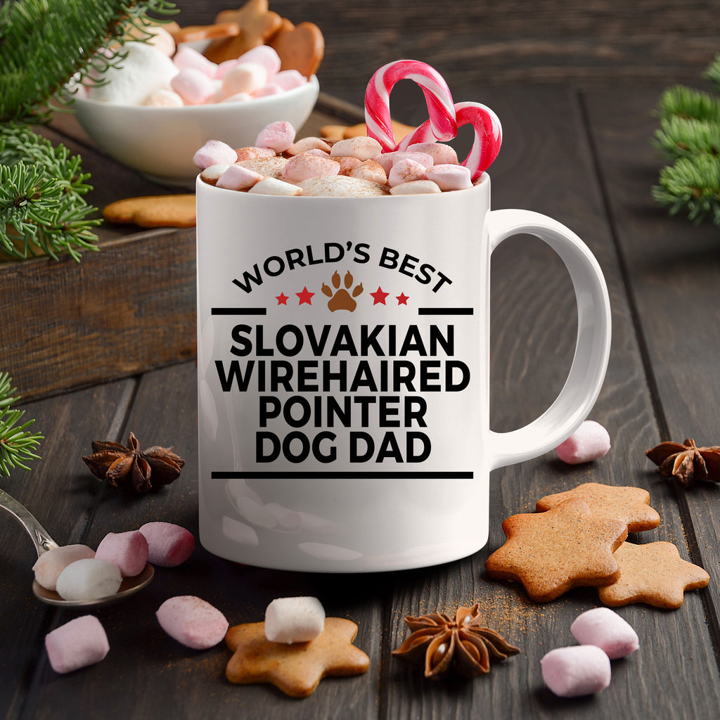 Slovakian Wirehaired Pointer Dog Dad Coffee Mug