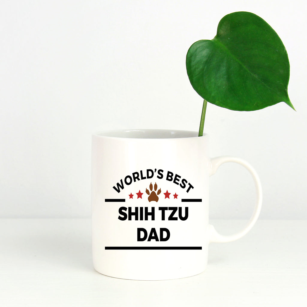 Shih Tzu Dog Dad Coffee Mug