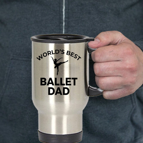 Ballet Dad Travel Coffee Mug