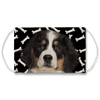 Bernese Mountain Dog Puppy Dark Bones Sublimation Face Mask