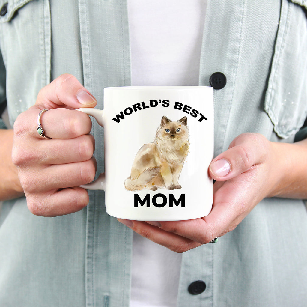 Ragdoll Cat Mom Coffee Mug