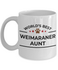 Weimaraner Dog Aunt Coffee Mug