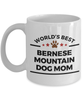 Bernese Mountain Dog Lover Gift World's Best Mom Mother's Day Birthday Coffee Mug