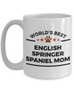 English Springer Spaniel Dog Mom  Coffee Mug