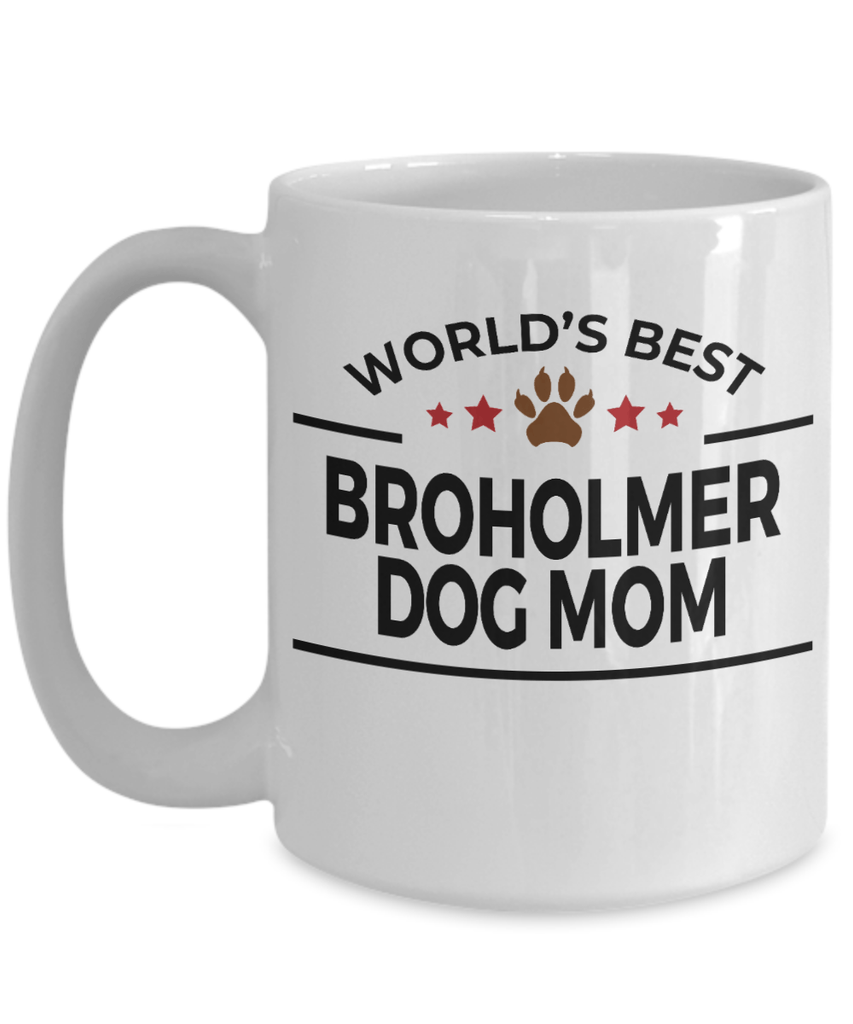 Broholmer Dog Mom Coffee Mug