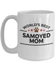 Samoyed Dog Lover Mom Coffee Mug