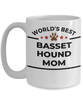Basset Hound Dog Mom Coffee Mug