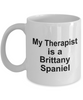 Brittany Spaniel Dog Therapist Coffee Mug