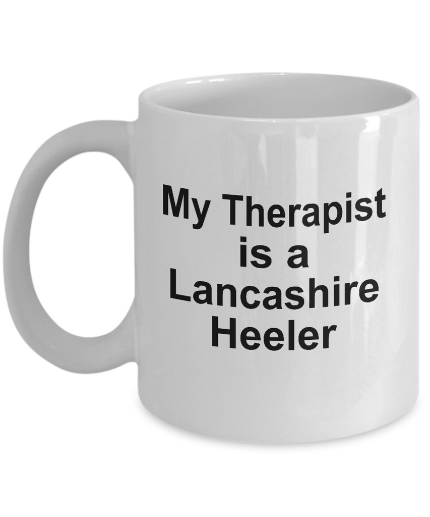 Lancashire Heeler Therapist Coffee Mug