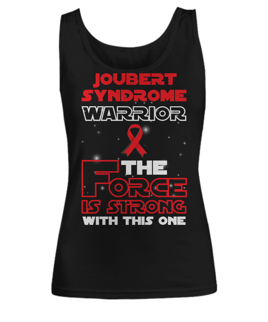 Joubert Syndrome Warrior Force is Strong Black Woman Tank Top