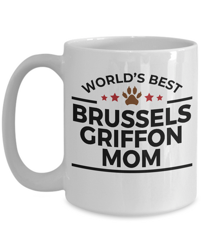 Brussels Griffon Dog Mom Coffee Mug