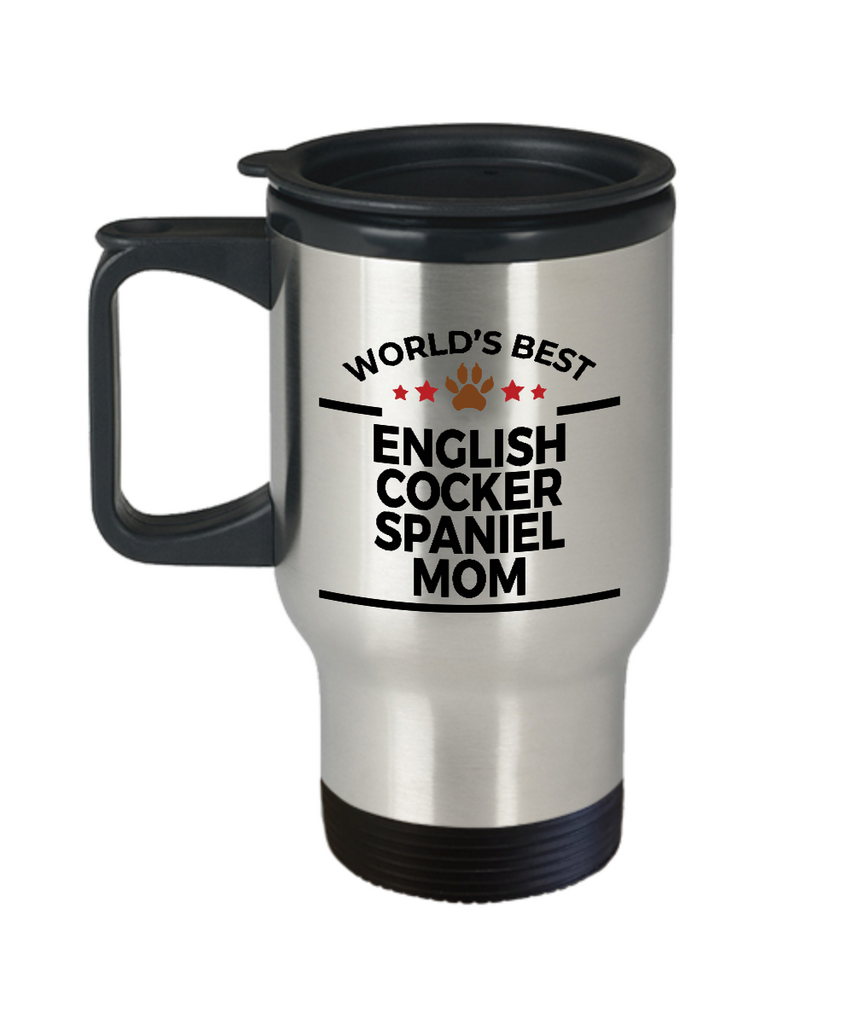 English Cocker Spaniel Dog Mom Travel Mug