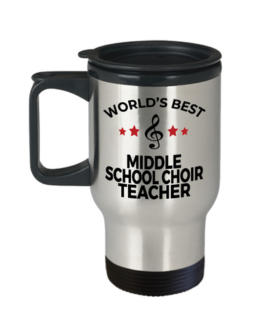 Middle School Choir Teacher Travel  Mug