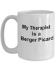 Berger Picard Dog Therapist Coffee Mug