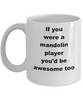 Mandolin Player Coffee Mug