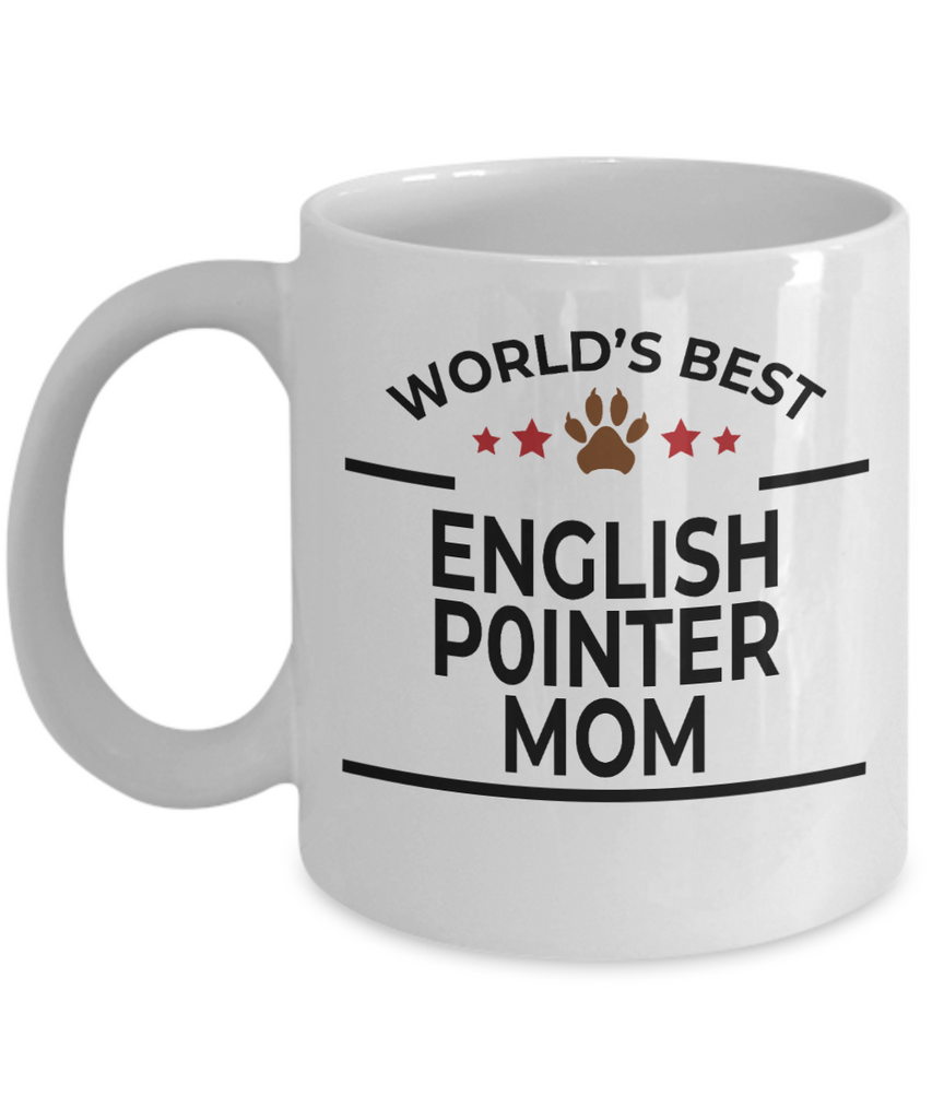English Pointer Dog Mom Coffee Mug